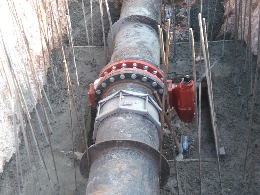 CAASD instala últimas válvulas de seccionamiento para ampliar servicio de agua potable en Santo Domingo Este