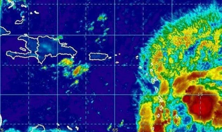 Según el organismo, el sistema de baja presión muestra un 90 % de probabilidad de convertirse en ciclón tropical durante las próximas 48 horas. Fuente externa.