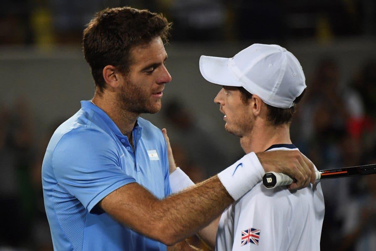 Murray y Del Potro abrirán eliminatoria de semifinales de la  Copa Davis