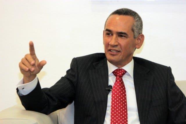 Ex director de Inapa, Alberto Holguín.