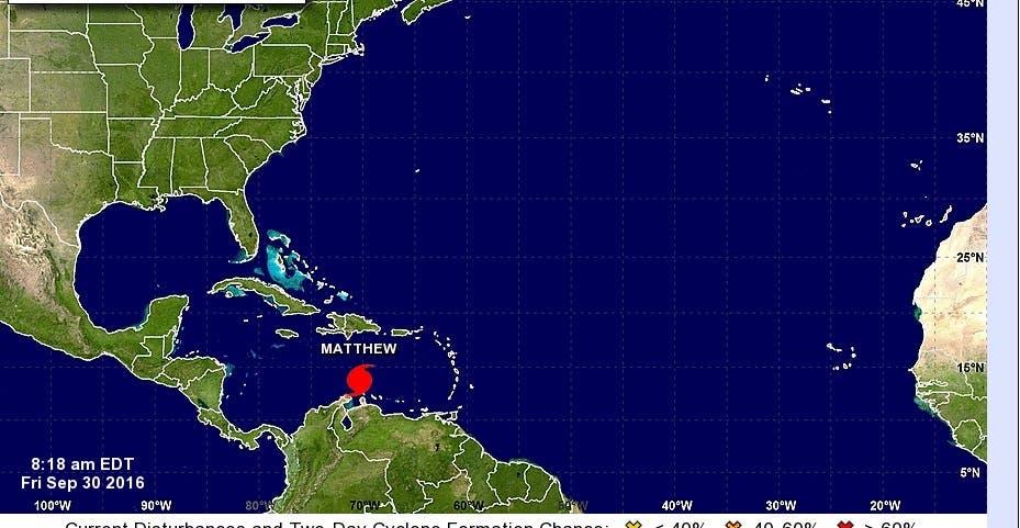 ¿Qué hacer ante el paso del huracán Matthew? Aquí las recomendaciones