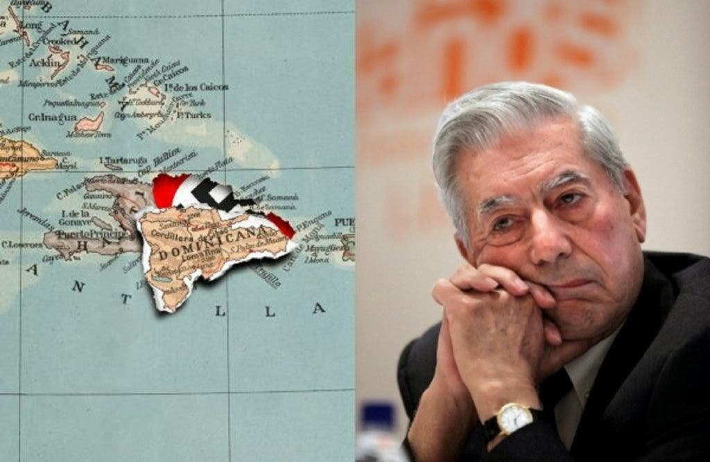 """Ilustración con que el periódico El País, de España, ilustró el artículo """"Los Parias del Caribe"""", de Mario Vargas Llosa, y a raíz del cual algunos objetaron su participación en la Feria del Libro."""