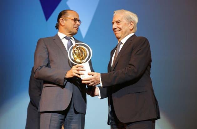 Algunos objetaron el premio a Mario Vargas Llosa