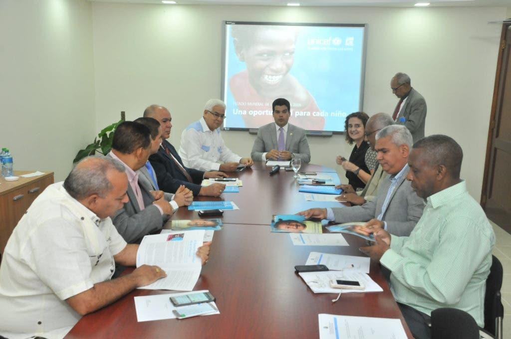 UNICEF presenta a Cámara de Diputados informe sobre estado de la Infancia en  RD