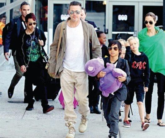 Brangelina: Lo sucedido entre Brad Pitt y Angelina Jolie quedó en video