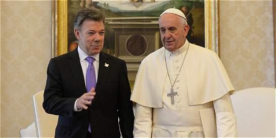 El presidente de Colombia, Juan Manuel Santos, anunció hoy que el papa Francisco visitará Colombia en el primer trimestre de 2017
