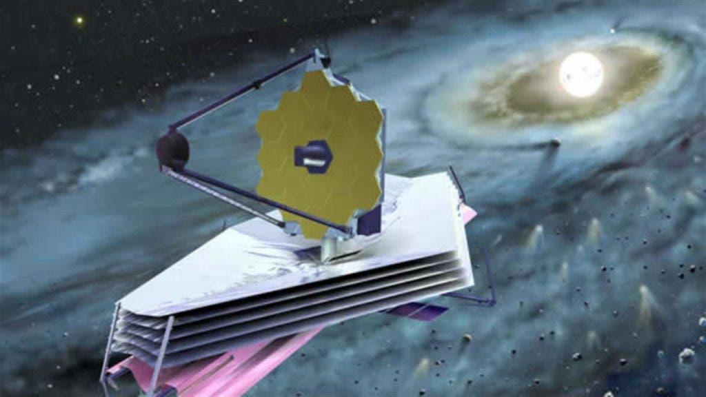 """Telescopio espacial """"James Webb"""", considerado como el sucesor del """"Hubble""""."""