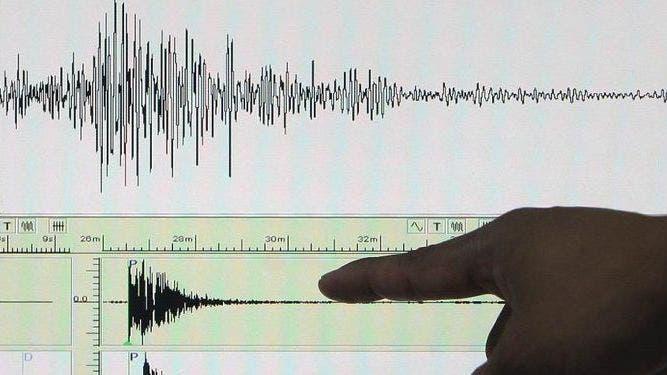 Fotografía de un sismógrafo. EFE/Archivo.