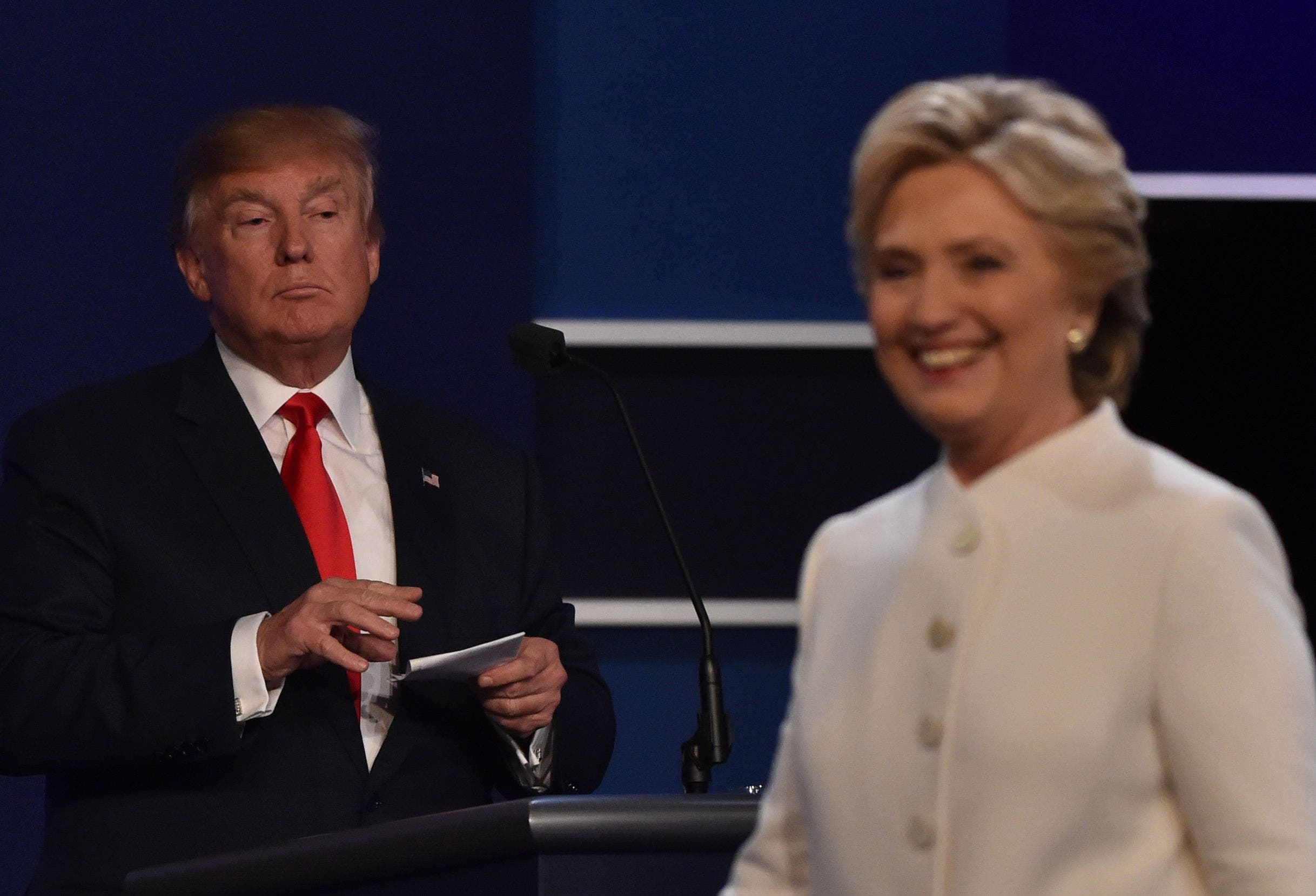 Final Presidential Debate Between Hillary Clinton and Donald Trump