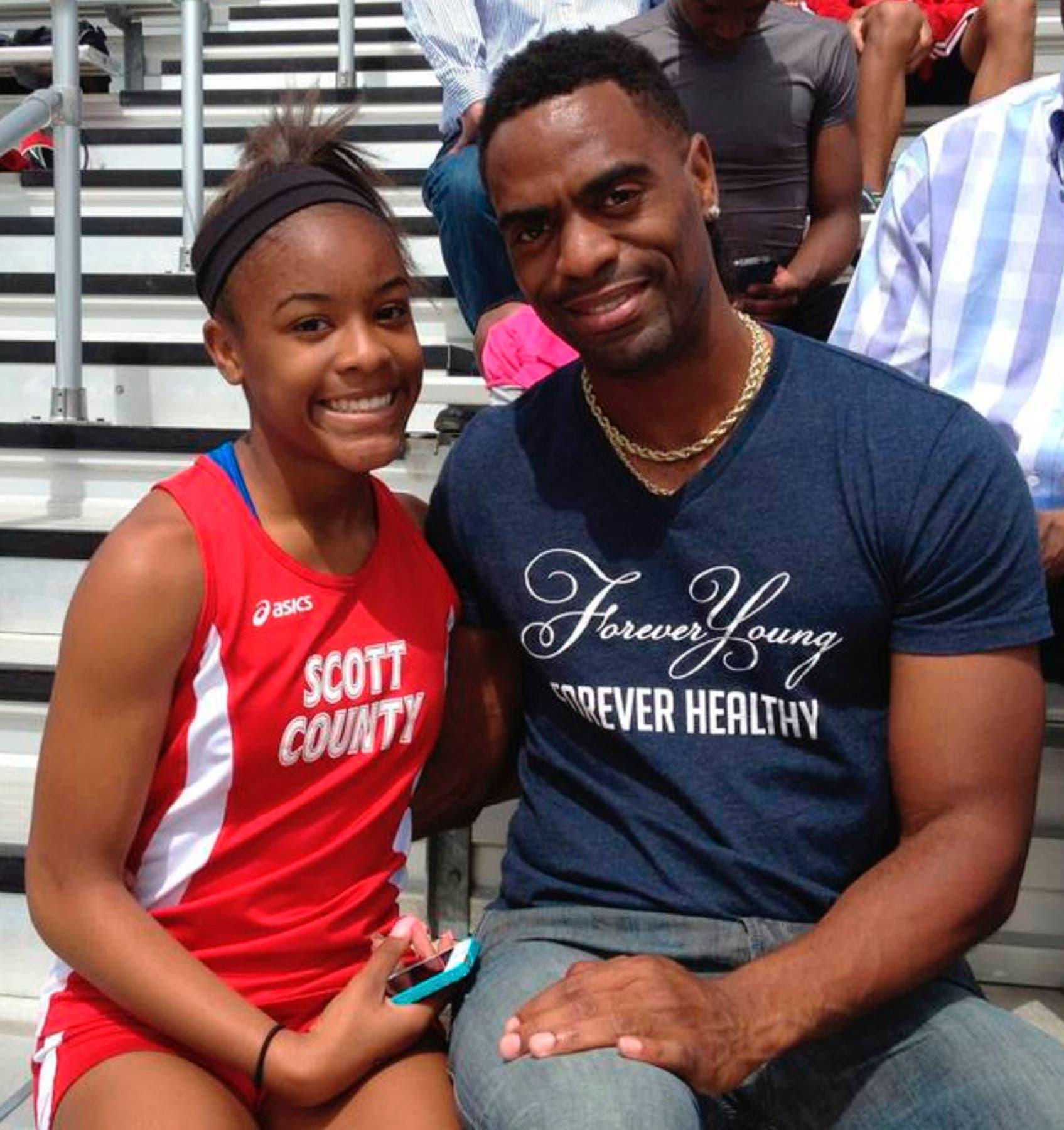 Arrestan a tres implicados en muerte de hija del velocista olímpico Tyson Gay