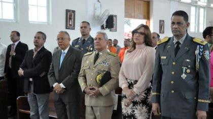 Policía Nacional celebra Día de San Judas Tadeo en Santiago