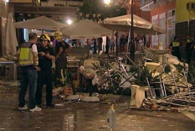 España: Explosión de balón de gas deja al menos 77 heridos