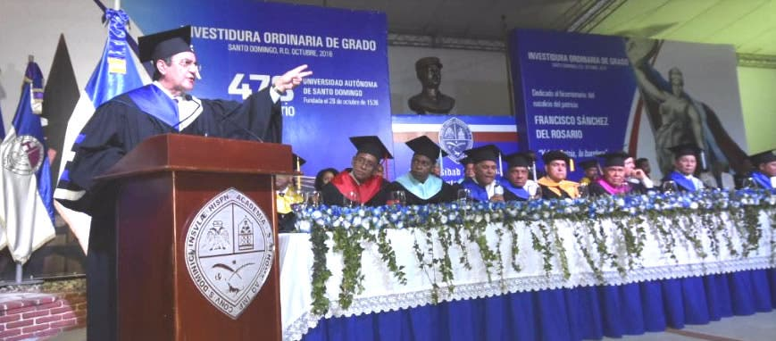 Rector Iván Grullón: a la UASD le corresponde por ley más de RD$20 mil millones