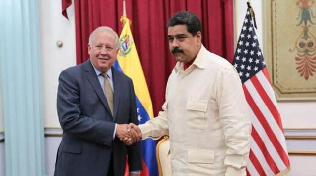 Maduro y funcionario EEUU