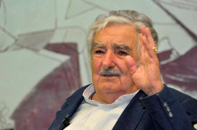 El pais.El expresidente de Uruguay José -Pepe- Mujica,en el Almuerzo Semanal del Grupo de Comunicaciónes Corripio.Hoy/Pablo Matos   10-10-2016