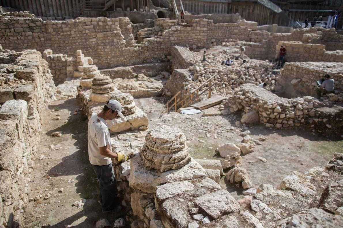 Descubiertos restos de la batalla en la que los romanos tomaron Jerusalén