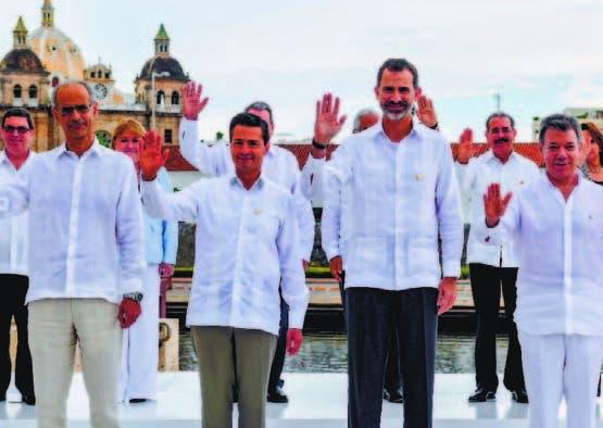 Presidentes inician reunión en Cumbre Iberoamericana