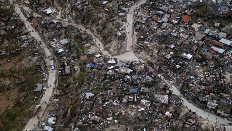 Haití queda con deuda de aproximadamente 100 millones de dólares, tras Matthew