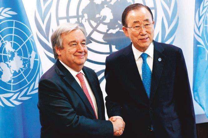 La ONU nombra oficialmente a António Guterres nuevo secretario general