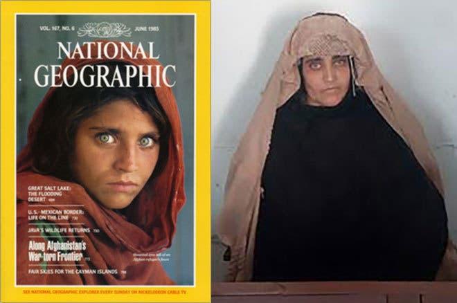 Detenida niña afgana de National Geographic por documentos falsos en Pakistán