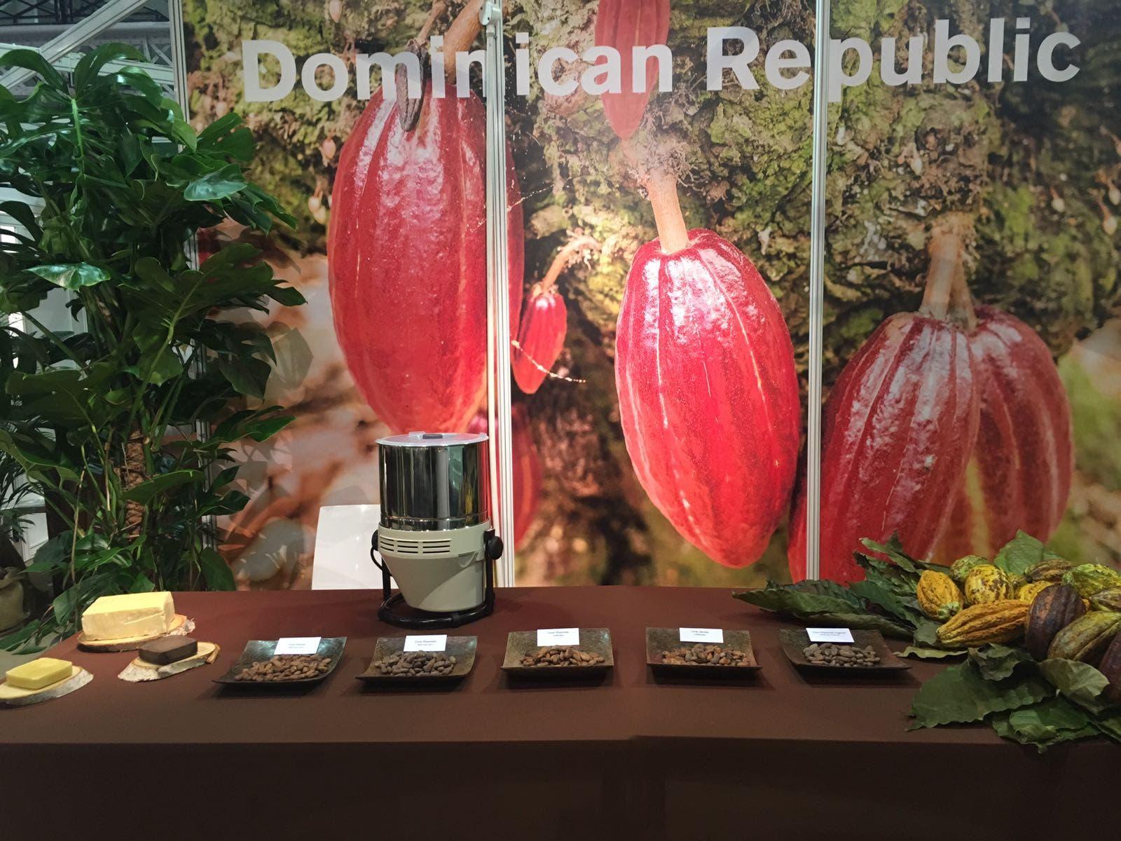 Exhiben cacao dominicano en el Salón del Chocolate de Londres 2016