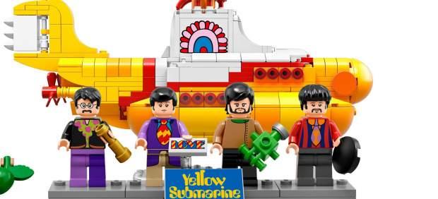 Los Beatles y su submarino amarillo se convierten en figuritas de Lego