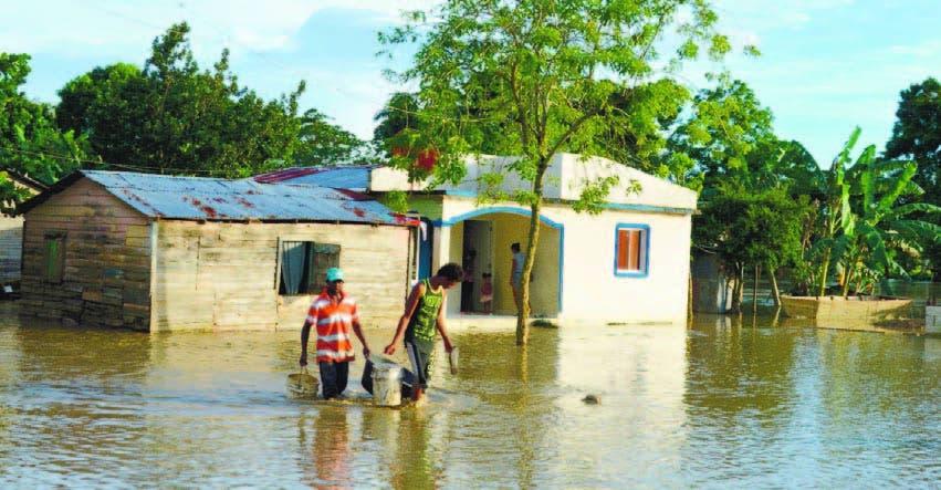 Aguaceros no ceden, hoy afectarán más al Este; 13 provincias en alerta