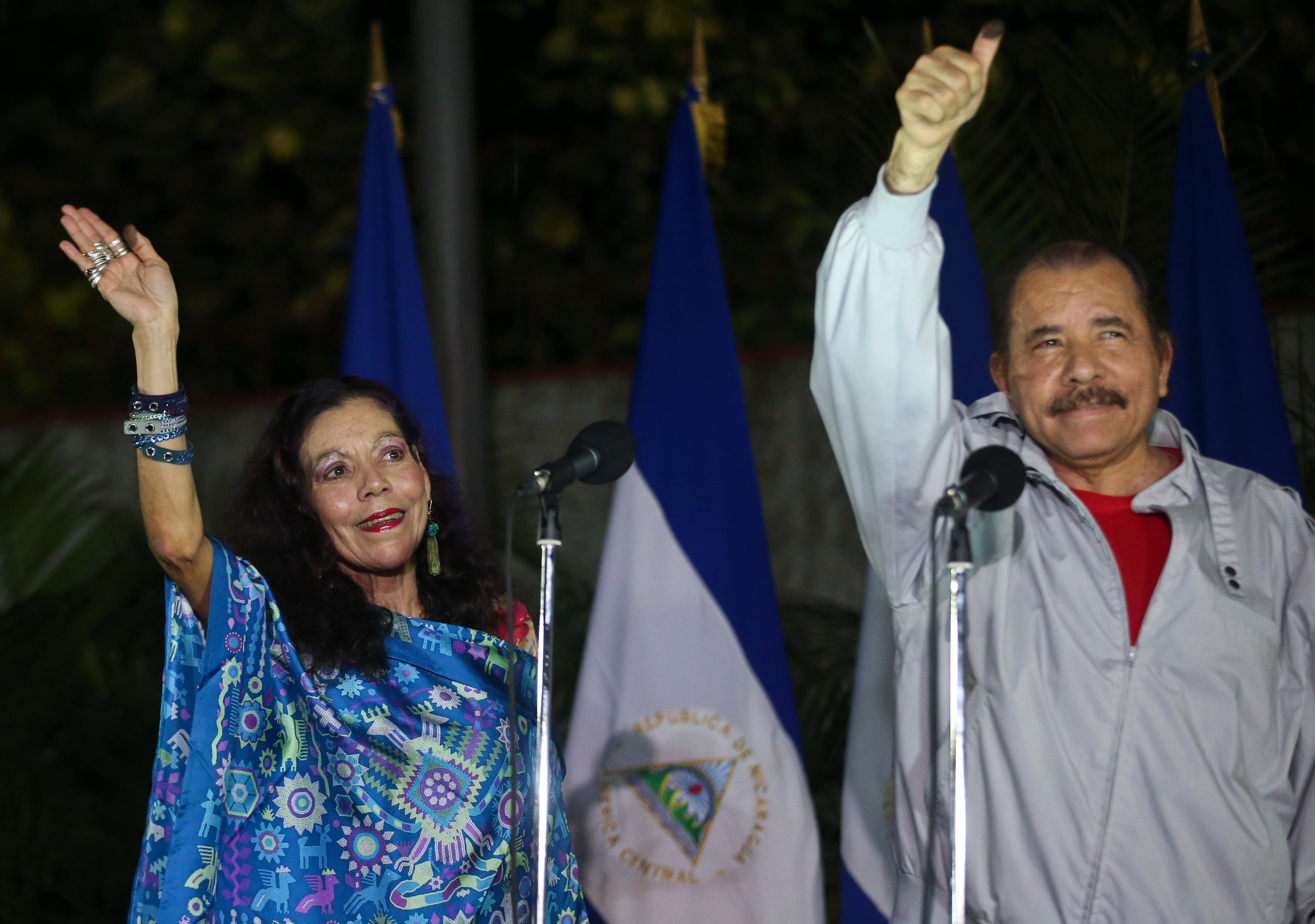 Daniel Ortega gana elecciones en Nicaragua
