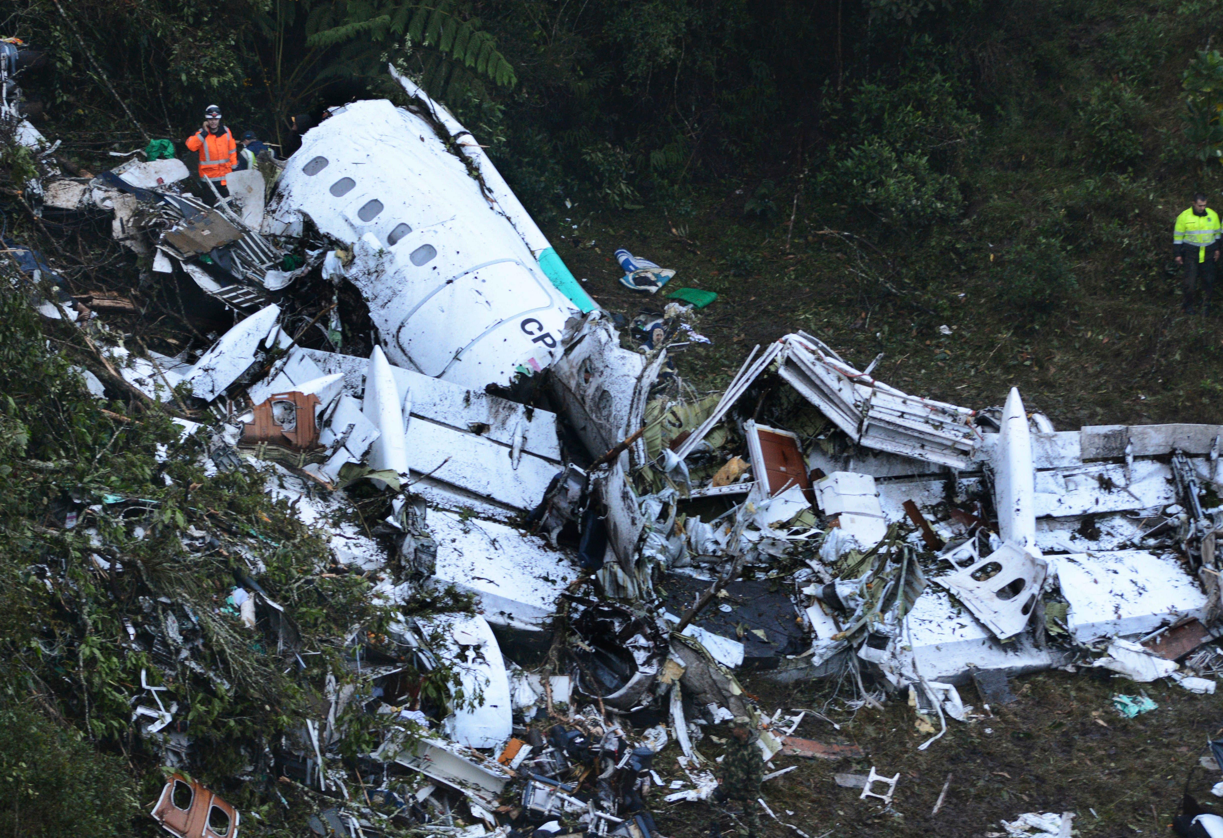 La tragedia aérea que conmocionó a Colombia y Brasil