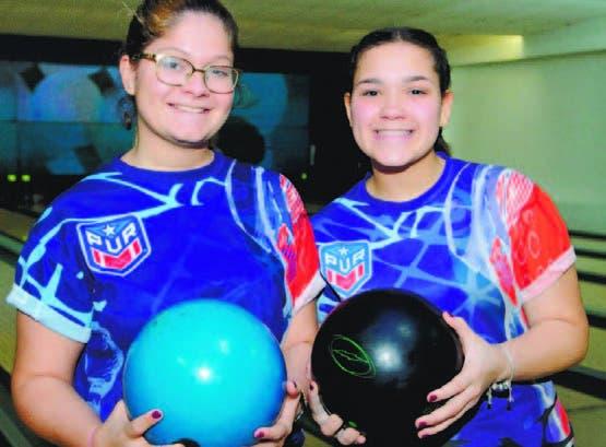 Alexandra Rodríguez y Taishave Naranjo, de Puerto Rico