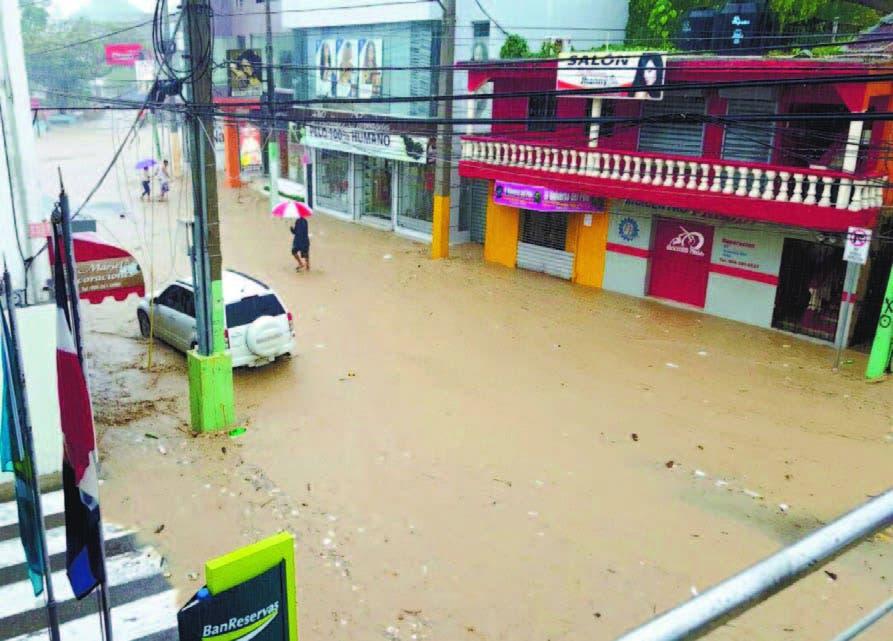 Cinco muertos en Puerto Plata producto de las inundaciones