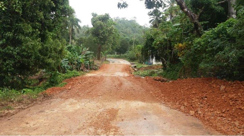 Carretera reparada