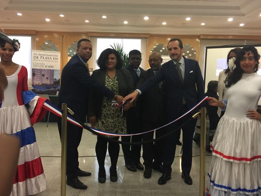 """Inauguran en Madrid 1ra Feria Inmobiliaria y de Proyectos Turísticos """"Dominicana en España 2016"""""""