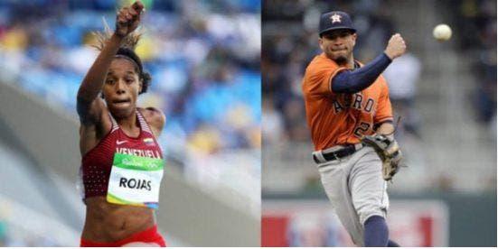 José Altuve y Yulimar Rojas, Atletas del Año en Venezuela