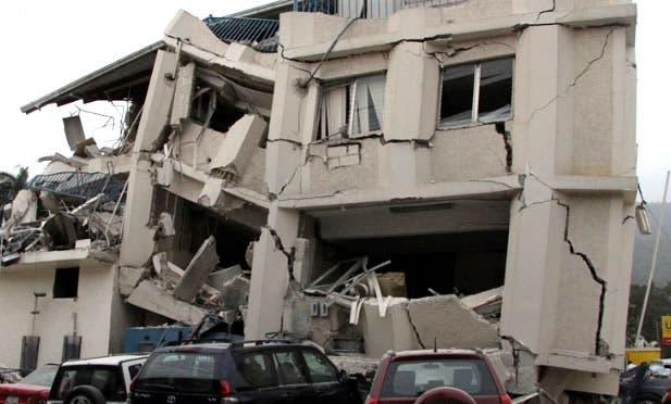 Cuatro muertos en el derrumbe de un edificio en Puerto Príncipe