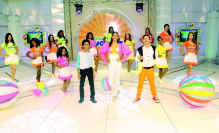 """Elenco del programa """"El Show de Huguito"""", que se transmite por Súper Canal y Señal Caribe"""