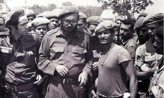Fidel Castro en Girón