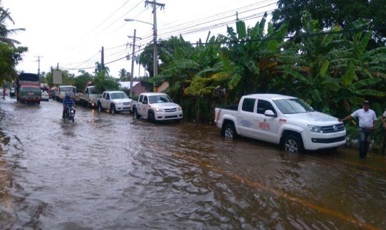 Inundación en Bavaro