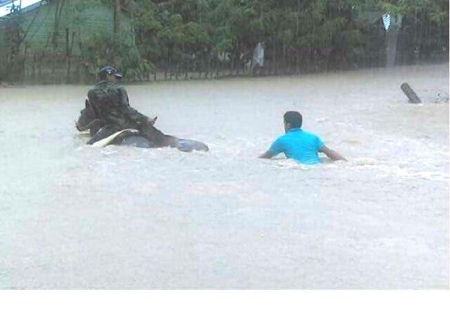 Inundación por lluvias