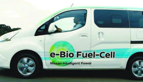 La pila de combustible de bio-etanol utiliza la reacción del oxígeno