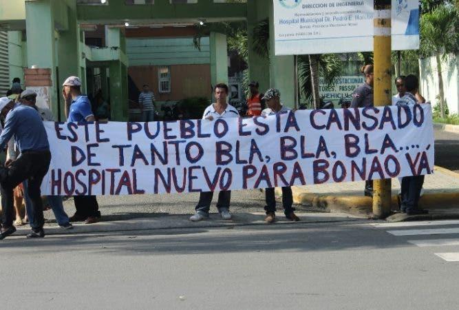 Protesta en Bonao