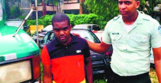 Ronald Parreño Liriano fue llevado al Tribunal de Tránsito