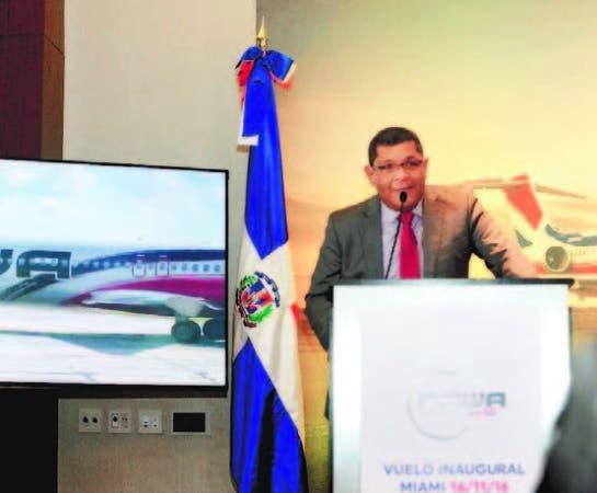 Simeón García ofrece detalles nueva ruta