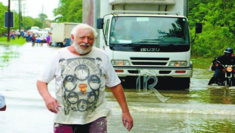 Sosúa fue uno de los poblados más afectados por las inundaciones