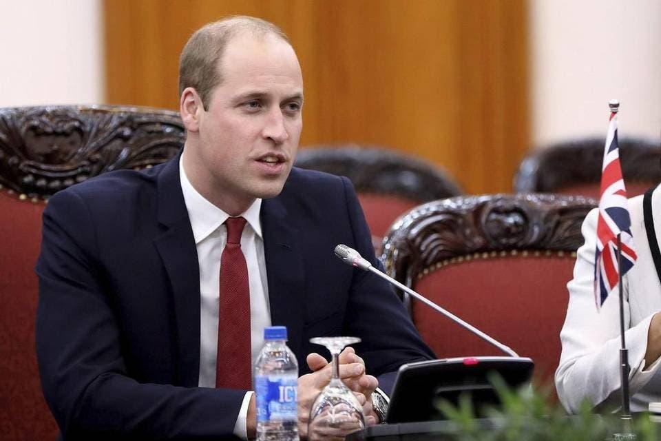 El príncipe Guillermo en Hanoi para conferencia sobre contrabando animal