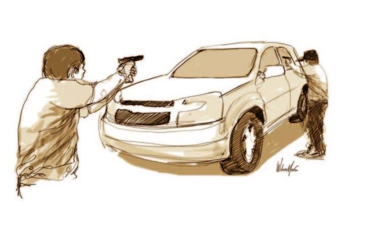 asesino dibujo