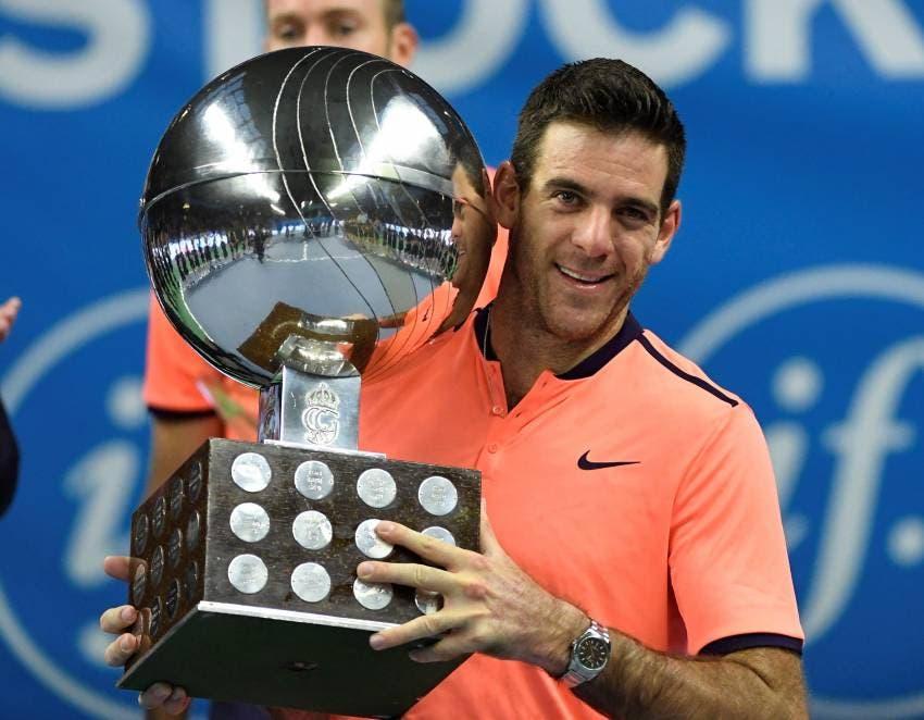Del Potro gana el premio al 'Regreso del año' de la ATP