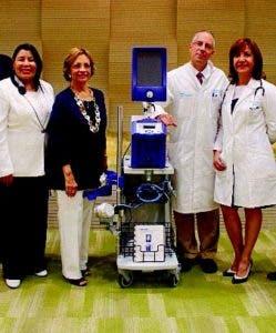 Fundación dona equipo para tratar a pacientes