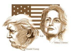 USA: candidatos que encantan o aterran