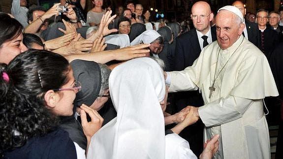 El Papa pide perdón en nombre de los católicos que no ayudan a los pobres